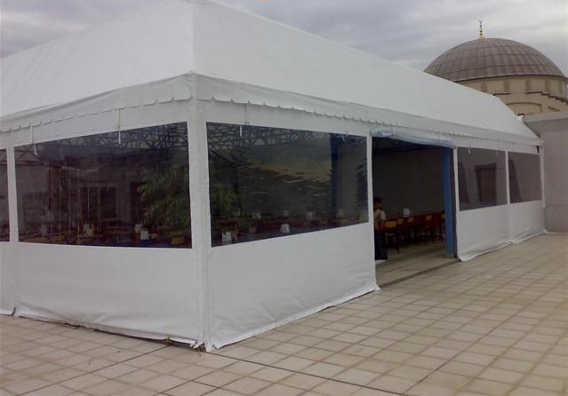 Şeffaf kış bahçesi Restaurant Cafe Otel