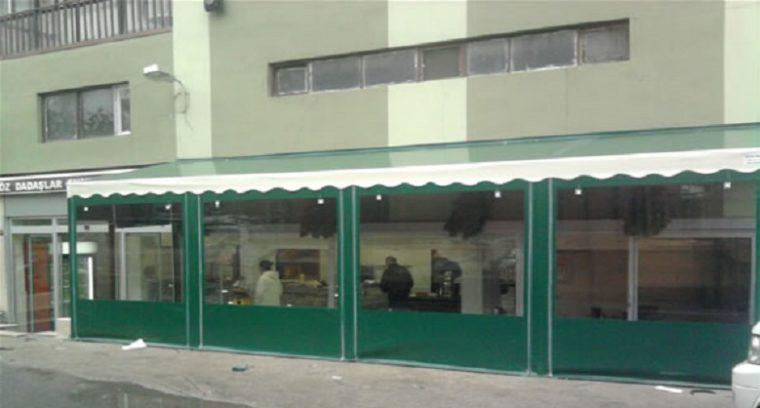 Şeffaf Kış Bahçesi Cafe